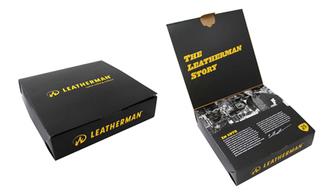 Мультитул Leatherman Squirt PS4, 9 функций, черный (подарочная упаковка)