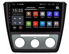 Штатная магнитола 4G/LTE Skoda Yeti 14+ Android 7.1.1 Parafar PF994