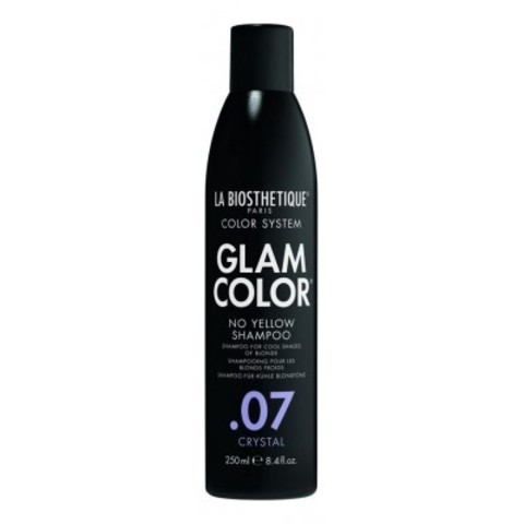 La Biosthetique Glam Color No Yellow Concept: Шампунь для окрашенных волос (Shampoo .07 Crystal), 250мл