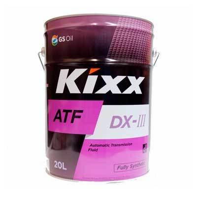 L2509P20E1 Kixx ATF DX-III синтетическое трансмиссионное масло (20 литров) купить на официальном сайту дилера ht-oil.ru