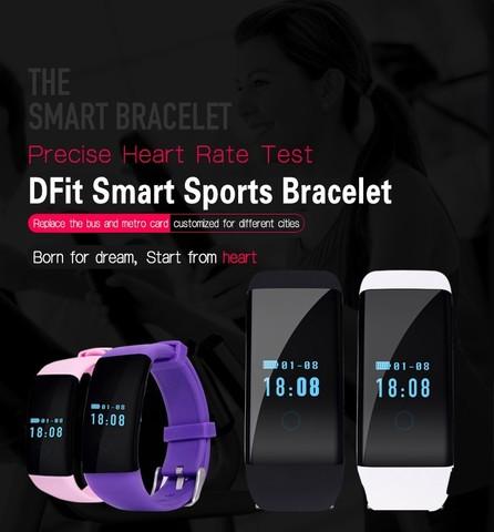 Фитнес-Браслет Dfit D21 цвет на выбор