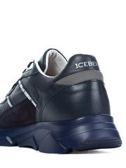Кожаные кроссовки Iceberg 1300 синие