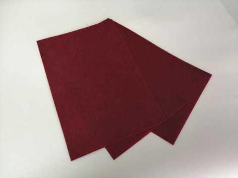 Фетр 20x30,  жесткий,  толщиной 1 мм  Цвет №49