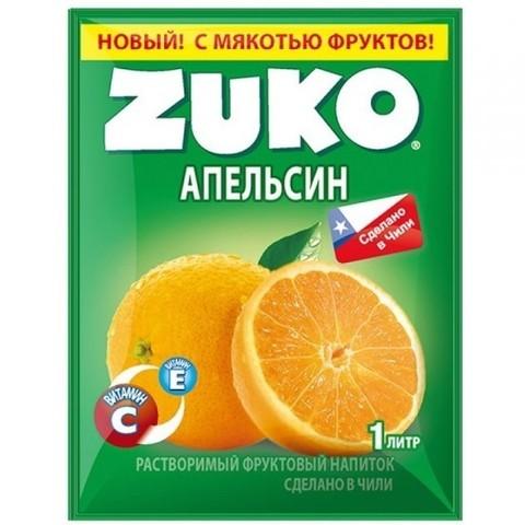 Растворимый напиток Zuko Апельсин 25 г