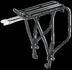 Багажник Topeak Uni Supertourist регулируемый, W/Disc Mount, Black 24-29 и 700С