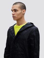 Куртка Alpha Industries L.O. Camo Fishtail Black (Черная)