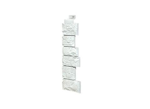 Угол серии Дикий Камень FineBer - Мелованный Белый
