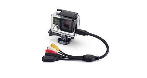 Combo Cable - Кабель комбинированный (3.5 mic,usb,video)