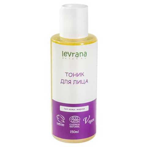 Levrana, Тоник для жирной кожи, 150мл