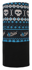 Шарф-труба 4Fun Polartec Skull Blue