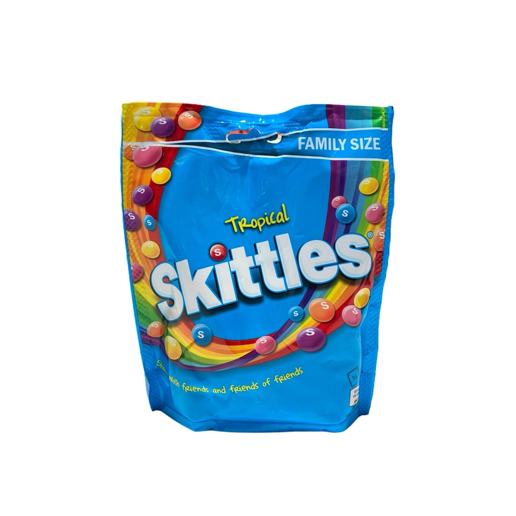 Skittles Tropical Pouch,  196гр