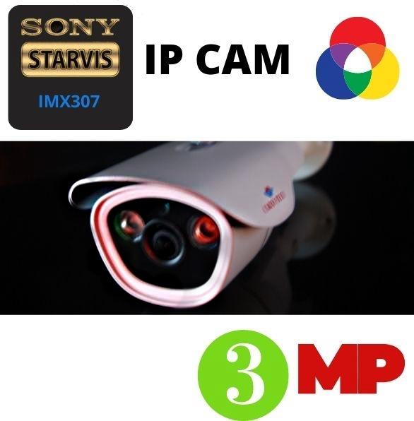 Видеонаблюдение уличное IP камеры CMOS Sony IMX 307 STARVIS цена