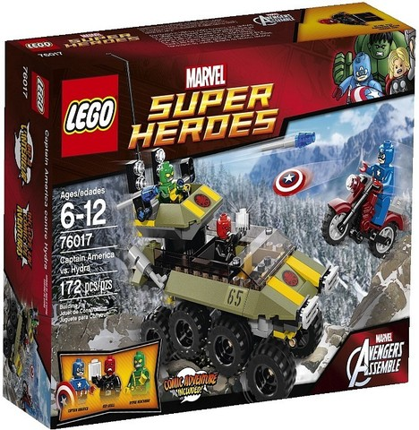 LEGO Super Heroes: Капитан Америка против Гидры 76017 — Captain America vs. Hydra — Лего Супергерои Марвел