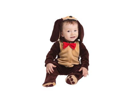 Детский костюм - комбинезон Песик