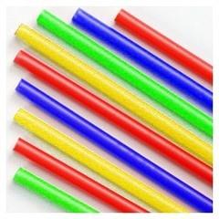Трубочки полимерные для шаров, флагштоков и сахарной ваты Ассорти (100 шт), диаметр 5 мм, длина 370 мм