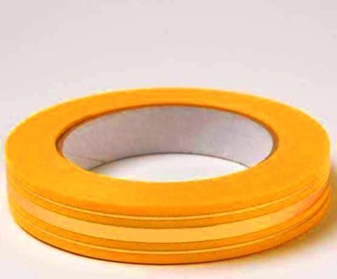 Лента золотая полоса BL (размер: 2 см х 50 ярдов) Цвет: желтый