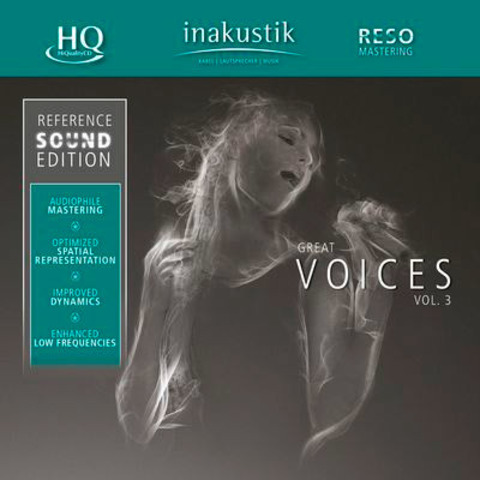 Inakustik CD, Great Voices Vol. IIl, 0167508