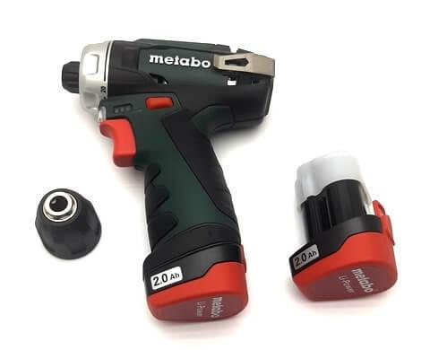 Шуруповерт Metabo PowerMaxx BS 10.8 В.