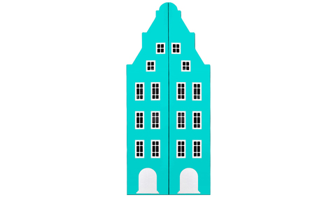 Шкаф-домик Амстердам -1 двустворчатый (Н)