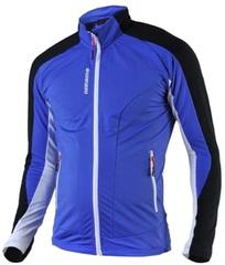 Утепленная беговая рубашка Noname Thermo 15-16 Blue