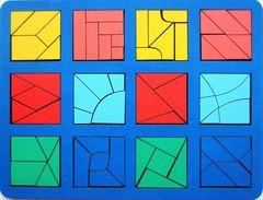 Сложи квадрат Никитина 3 уровень