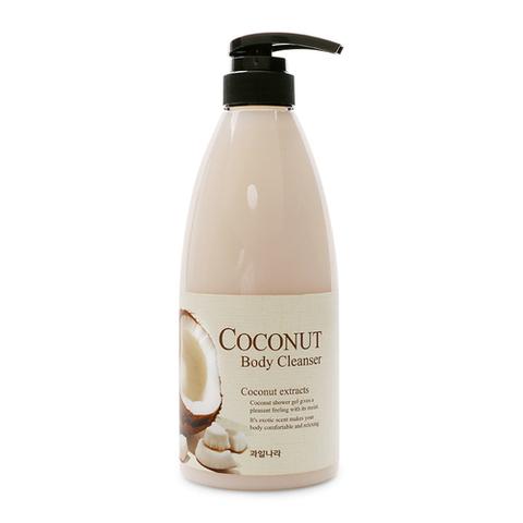 WELCOS Гель для душа кокосовый Coconut Body Cleanser 740гр