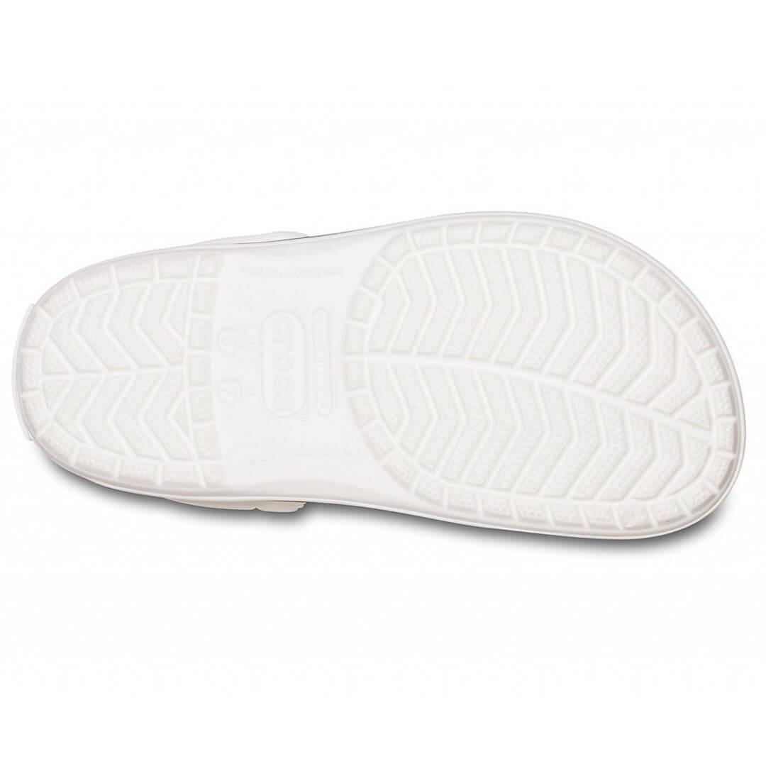 Кроксы белые Сrocband