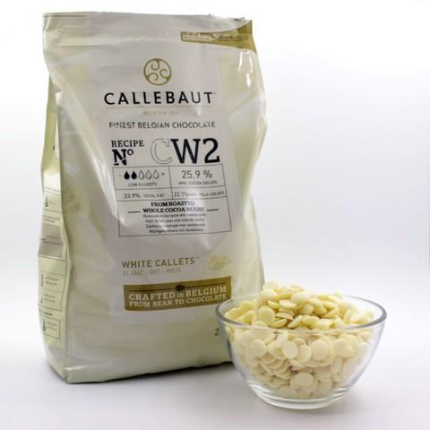 Белый шоколад Каллебаут (Callebaut) 2,5 кг