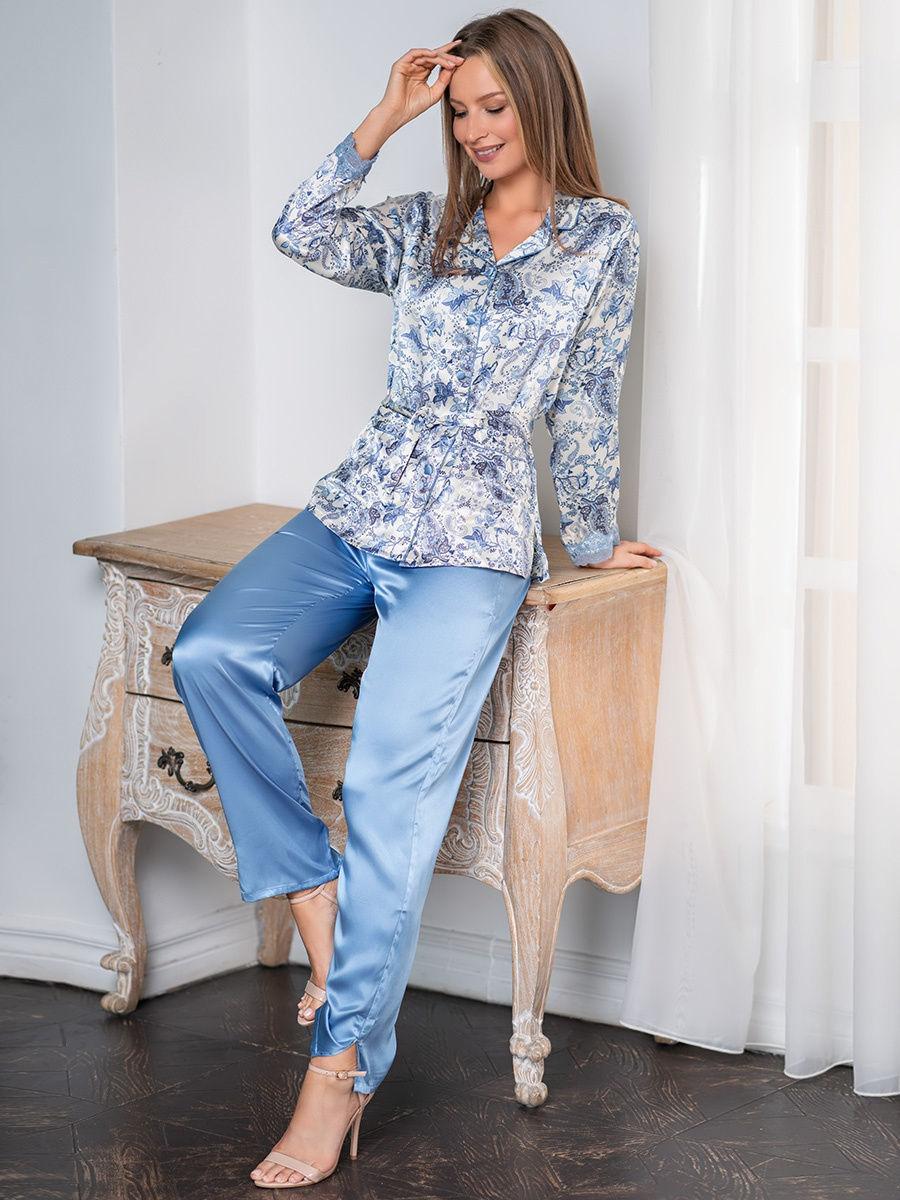 шелк натуральный Пижама женская натуральный шелк Mia-Amore Дольче Вита  5916 5916.1.jpg