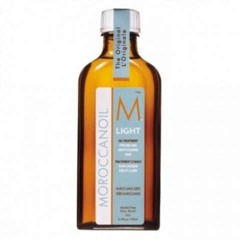 Moroccanoil Hair Treatment: Восстанавливающее средство для тонких и светлых волос (Light Oil Treatment for Fine & Light Colored Hair), 25мл/100мл/200мл
