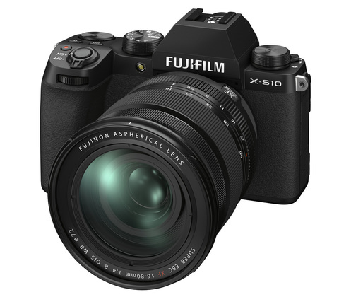 Fujifilm X-S10 Kit 16-80mm f/4 OIS WR Black