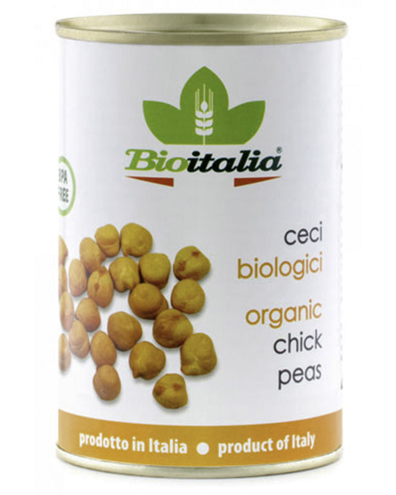 Турецкий Горох Bioitalia (нут) 400 гр