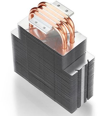 Устройство охлаждения(кулер) Deepcool GAMMAXX 400 BLUE BASIC Soc-AM4/AM3+/1150/1151/1200 4-pin 18-30dB Al+Cu 130W 640gr LED Ret