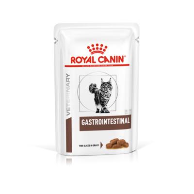 Влажные корма Пауч для кошек, Royal Canin Gastro Intestinal, при заболеваниях печени и нарушениях пищеварения 504832_400x400.jpg