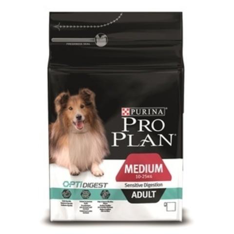Adult Medium Sensitive Digestion - для взрослых собак средних пород с чувствительным пищеварением с ягненком