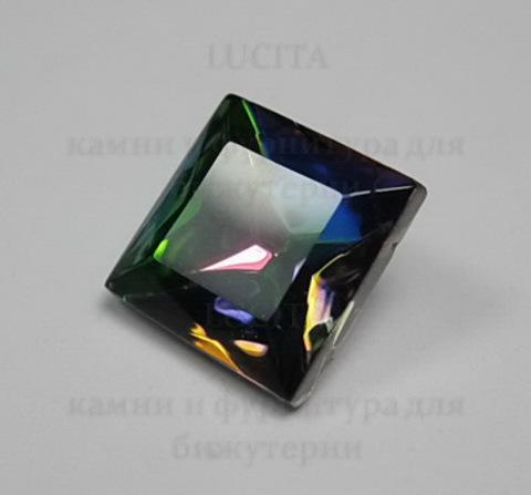 Ювелирные стразы Preciosa квадратные Vitrail Medium (10х10 мм) ()