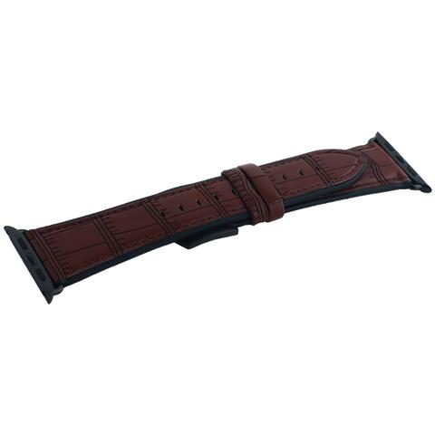 Ремешок кожаный COTEetCI W37 Fashion Leather (WH5263-BR) для Apple Watch 44мм/ 42мм Коричневый