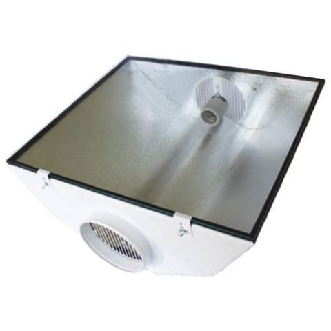 Светильник SPUDNIK Air Cooled Reflektor, Stucco, Glass 490 x 550 mm, Anschlussflansch: 150 mm