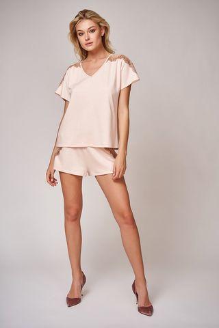 Пижама 51791 персиковый Laete
