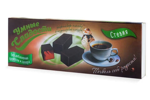 Конфеты Желейные со вкусом Кофе - Пломбир в глазури