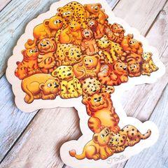 Деревянный Пазл Сафари ToySib 01070