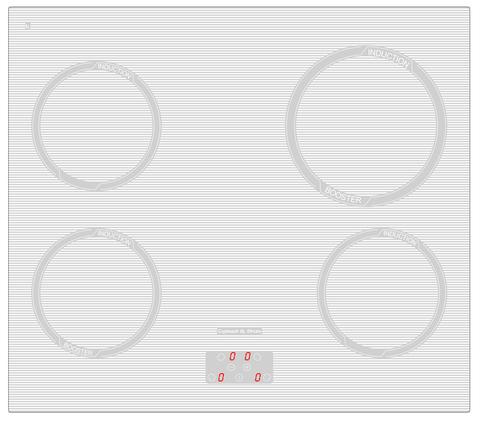 Индукционная варочная панель Zigmund & Shtain CIS 299.60 WX