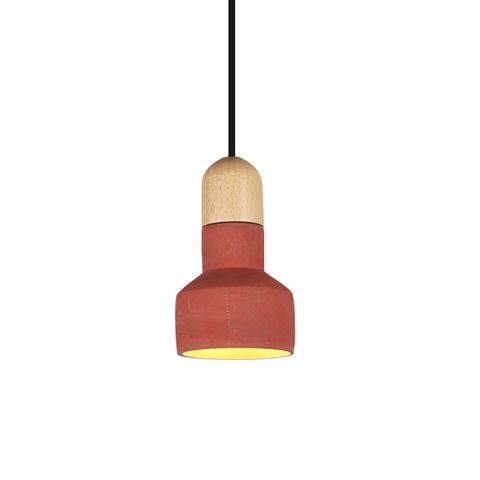 Подвесной светильник копия QIE BAMBOO by Bentu Design (красный)