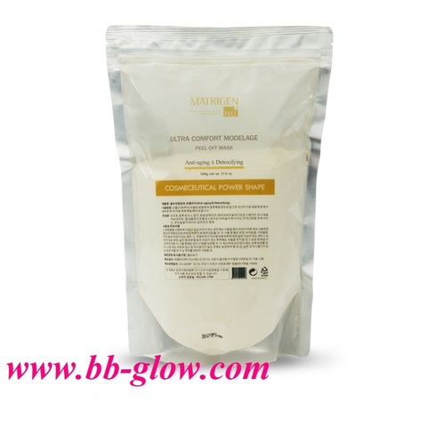 Антивовозрастная альгинатная маска для лица Anti-aging & Detoxifying Matrigen 500 гр