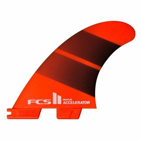 FCS II Accelerator Neo Glass Tri Fins Tang Gradient Medium