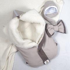 СуперМамкет. Конверт-одеяло всесезонное Мультикокон ®, Soft, бежевый вид 1