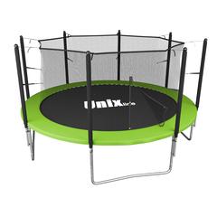 Батут UNIX line Simple 12 ft Green (inside) - 3,66 м