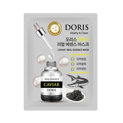 Тканевая маска для лица с экстрактом икры Doris