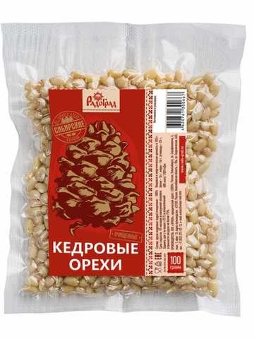 Ядро Кедрового ореха, 100 гр. (Радоград)