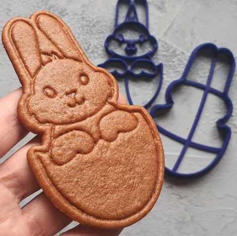 Пасхальный кролик в яйце №4